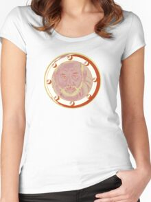 Bill Porthole - pinks Women's Fitted Scoop T-Shirt