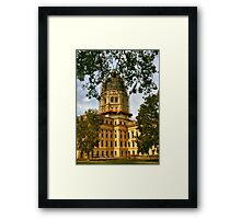 Working on the State House Framed Print