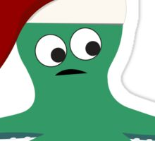 Sucky Christmas Without You Sad Octopus Sticker