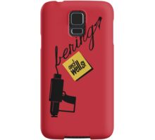 ...and Wells! Samsung Galaxy Case/Skin