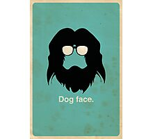 Dog Face Photographic Print