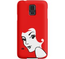 Miss Redhead [iPhone / iPad / iPod case / Tshirt / Print] Samsung Galaxy Case/Skin