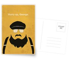 Hurry Up, George Greeting Card