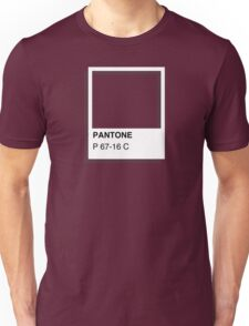 Colours of Red Bubble: Dark Red Unisex T-Shirt