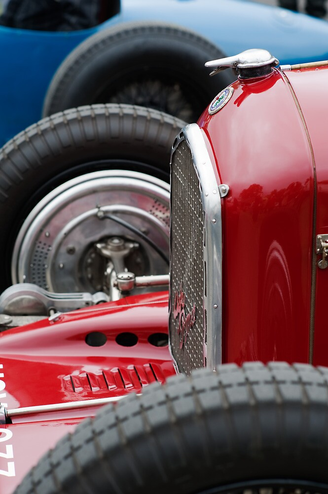 Alfa Romeo 6C - 2 by Flo Smith