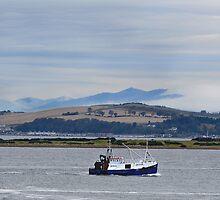 Fishing Boat by Donald  Stewart