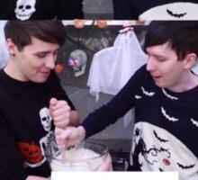 Dan and Phil - Halloween Baking 2015 Sticker