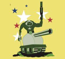 Green  Tankster Kids Tee