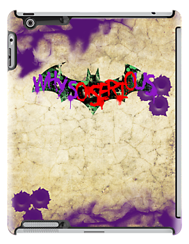 Batarang - The Joker (iPad) by Adam Angold
