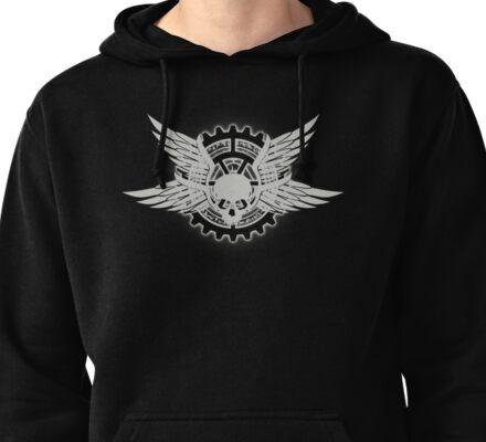 Hellfire Club Logo (grey) Pullover Hoodie