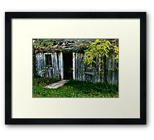 Come On In, the Door's Open Framed Print