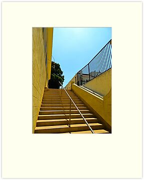Golden Stairs by debidabble
