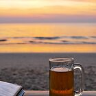 Beach and beer by Alita  Ong