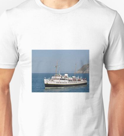 MV Balmoral at Llandudno  Unisex T-Shirt