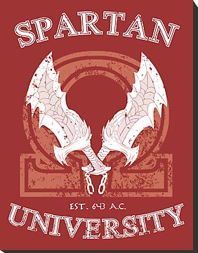 Spartan University [God of War] by Ruwah