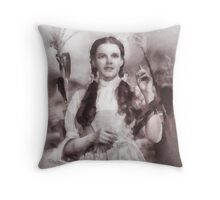 Wizard of Oz by John Springfield Throw Pillow