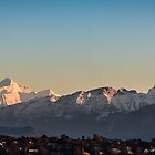 Mt Blanc and the Swiss Alps (medium pano) by A.Lwin Digital - Chasing the Inspiration