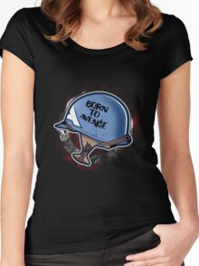 Born to Avenge Women's Fitted Scoop T-Shirt