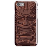 Wooden Tiki Statue Totem Sculpture iPhone 5 / iPhone 4 Case / Samsung Galaxy Cases  iPhone Case/Skin