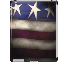 Americana, Red, White & Blue Grunge iPad Case iPad Case/Skin