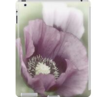 Purple Poppy ipad case iPad Case/Skin