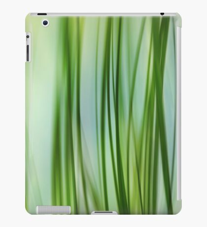 Vertical Grasses iPad Case/Skin