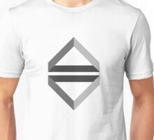 Playing with triangles and shadows Unisex T-Shirt