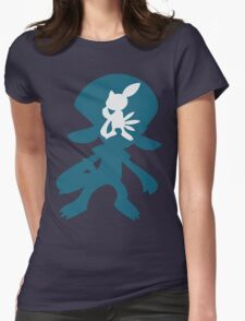 PKMN Silhouette - Sneasel Family Womens Fitted T-Shirt