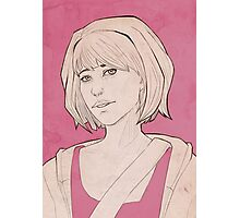 Max Caulfield Sketch Photographic Print