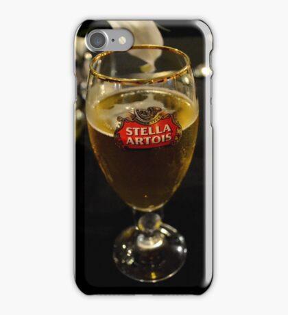 Beer glass iPhone Case/Skin