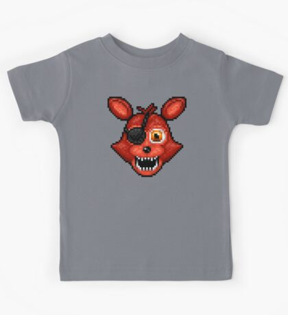 Adventure Foxy - FNAF World - Pixel Art Kids Tee