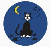 Serenading Backyard Cat Kids Clothes