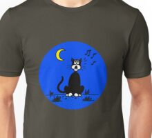 Serenading Backyard Cat Unisex T-Shirt