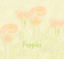 Monet Style Poppy iPad Case by Catherine Hamilton-Veal  ©