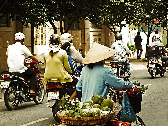 The Way Saigon Moves by Lucinda Walter