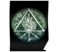ANCIENT FIRE SYMBOL - THE TIDE Poster