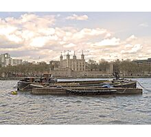 Thames Barges in Springtime Photographic Print