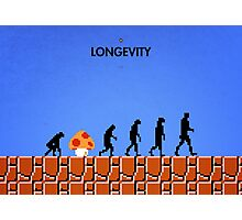 99 Steps of Progress - Longevity Photographic Print