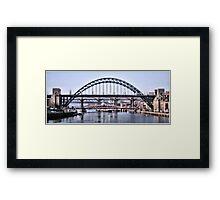 Five Bridges Framed Print
