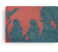 Ancient Lesson Canvas Print