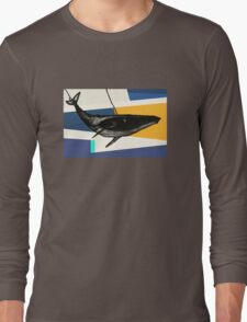 Message from the Whale Long Sleeve T-Shirt