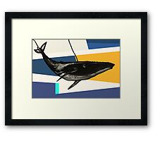 Message from the Whale Framed Print