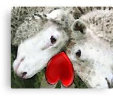 Sheep Art - For Life Canvas Print