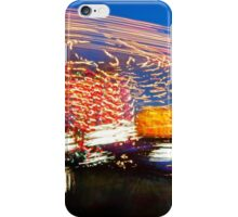 Long Exposure Fair Ride Motion iPhone Case/Skin