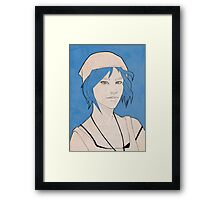 Chloe Price Sketch Framed Print