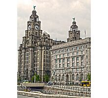 The Liver Buildings - Liverpool Photographic Print