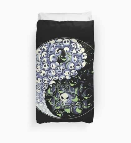 Dancing Nightmares Duvet Cover