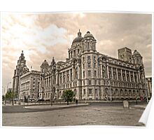 The 3 Graces Of Liverpool 2 Poster