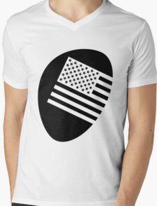 Legalized flag - black Mens V-Neck T-Shirt