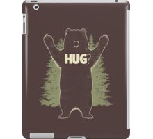 Bear Hug (Dark) T-Shirt  iPad Case/Skin